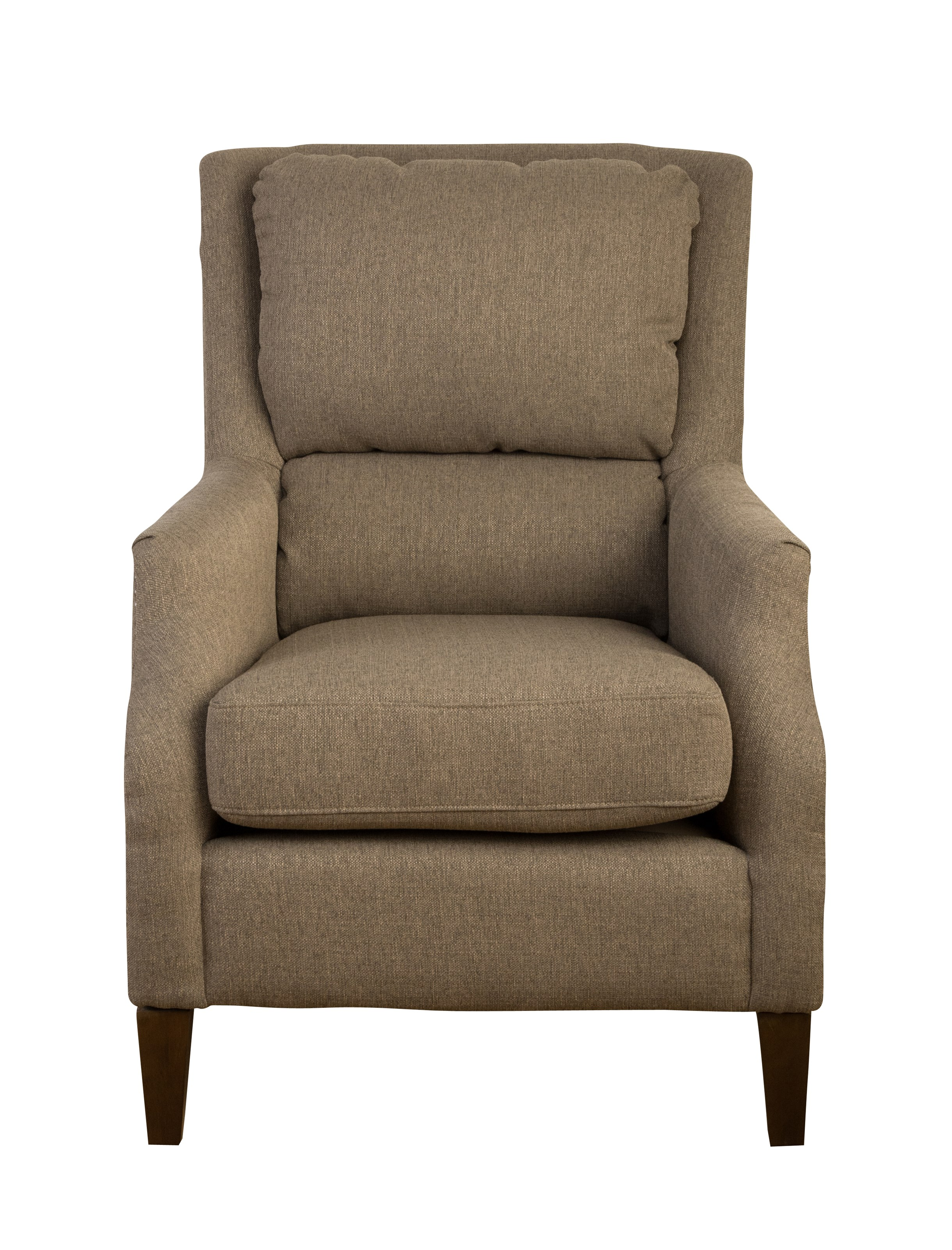 Jofran Accent Chairs Chandler Pillowback Accent Chair - Item Number: CHANDLER-CH-FORAGE