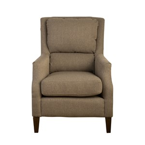 Jofran Accent Chairs Chandler Pillowback Accent Chair