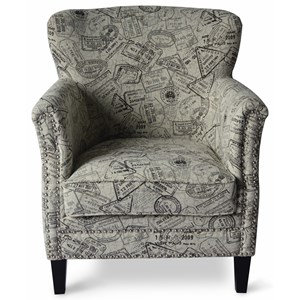 Jofran Easy Living Globetrotter Accent Chair