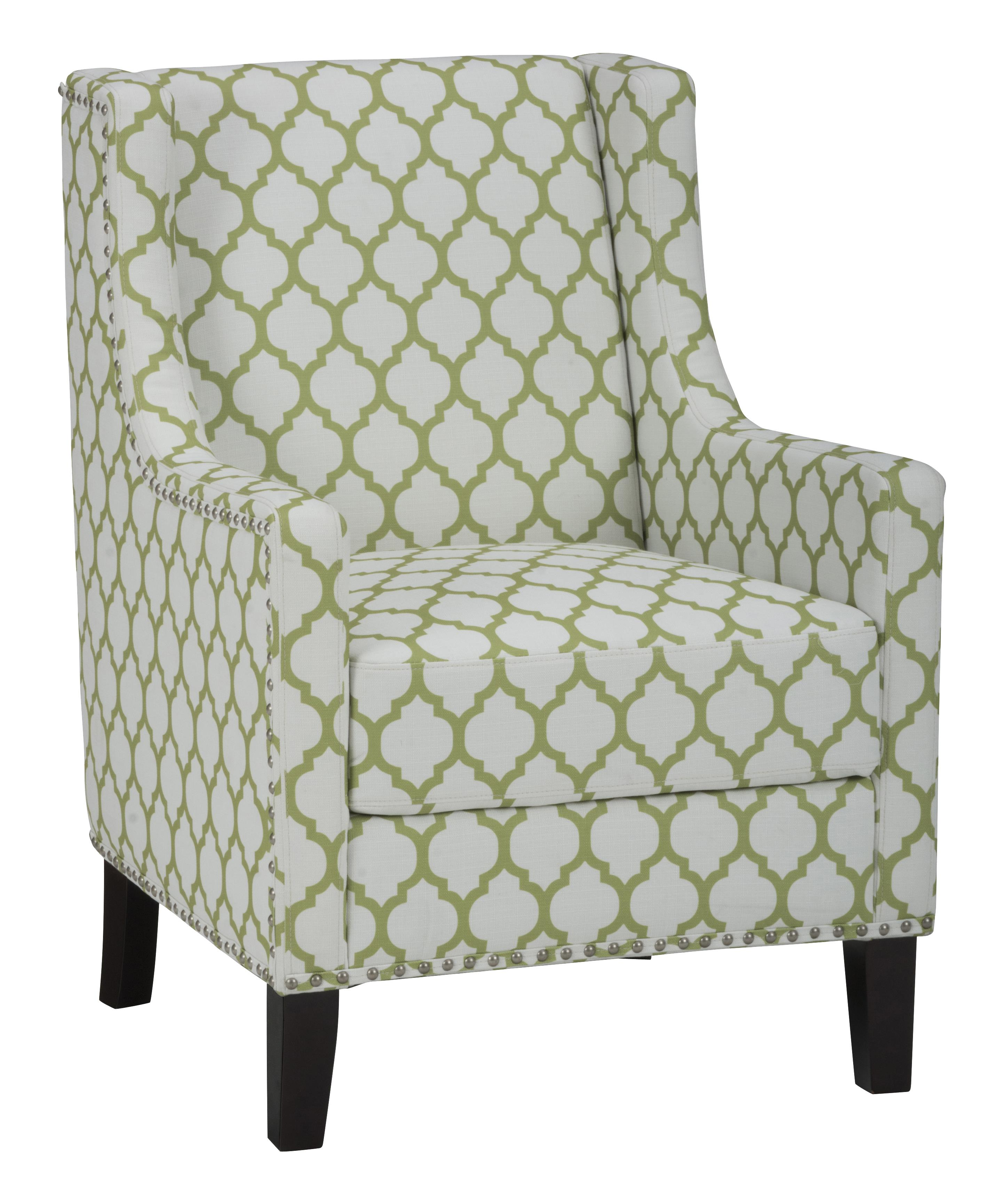 Jofran Accent Chairs Jeanie Club Chair in Avacado Green - Item Number: JEANIE-CH-AVCD