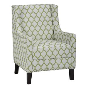 Jofran Accent Chairs Jeanie Club Chair in Avacado Green