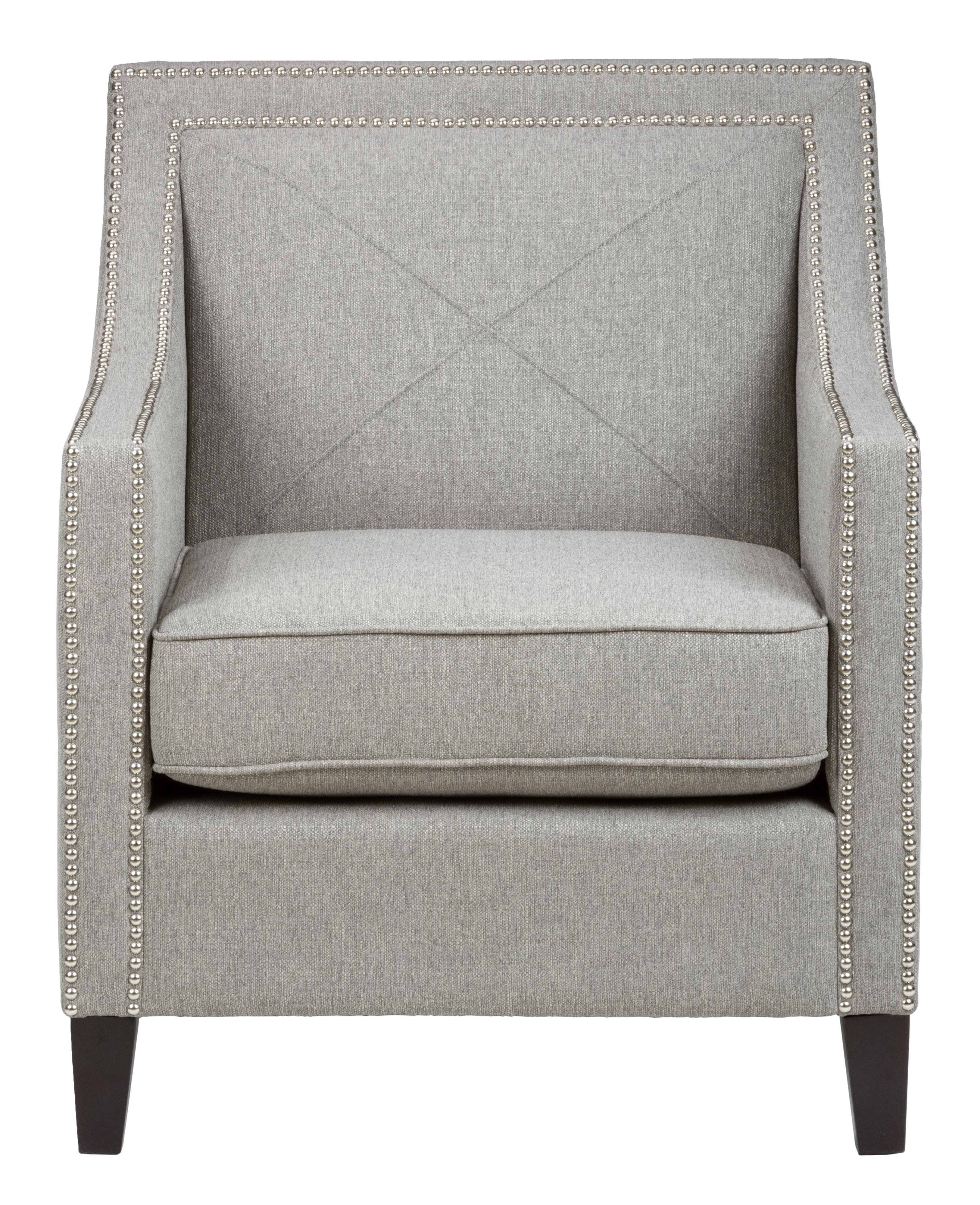 Jofran Upholstered Accent Chairs Ash Luca Club Chair - Item Number: LUCA-CH-ASH