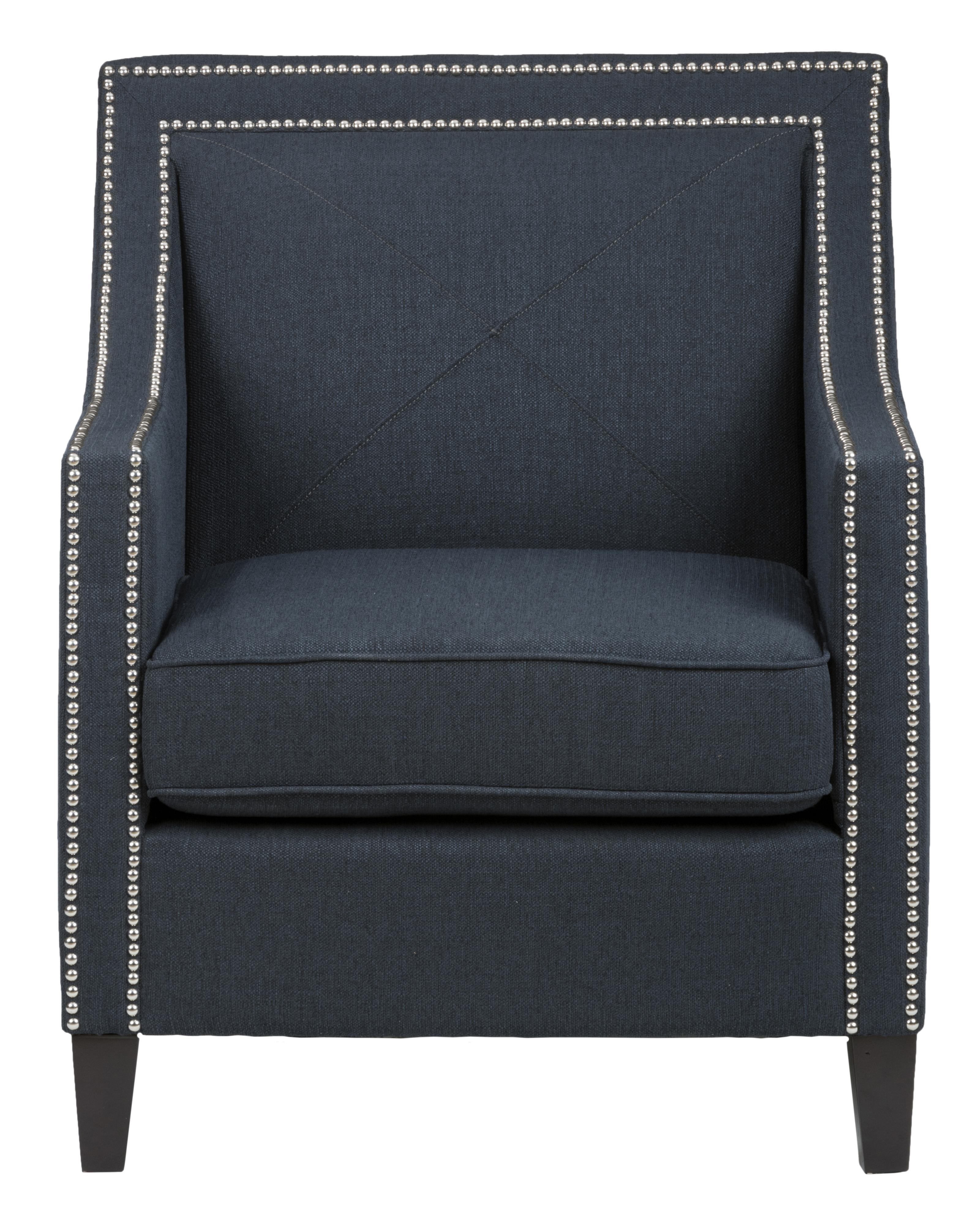 Jofran Easy Living Luca Club Chair - Item Number: LUCA-CH-INDIGO