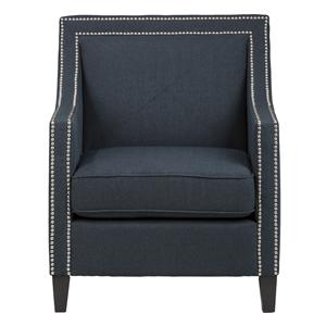 Jofran Upholstered Accent Chairs Indigo Luca Club Chair