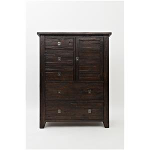 Jofran Kona Grove Kona Grove 5 Drawers and 1 Cabinet Chest