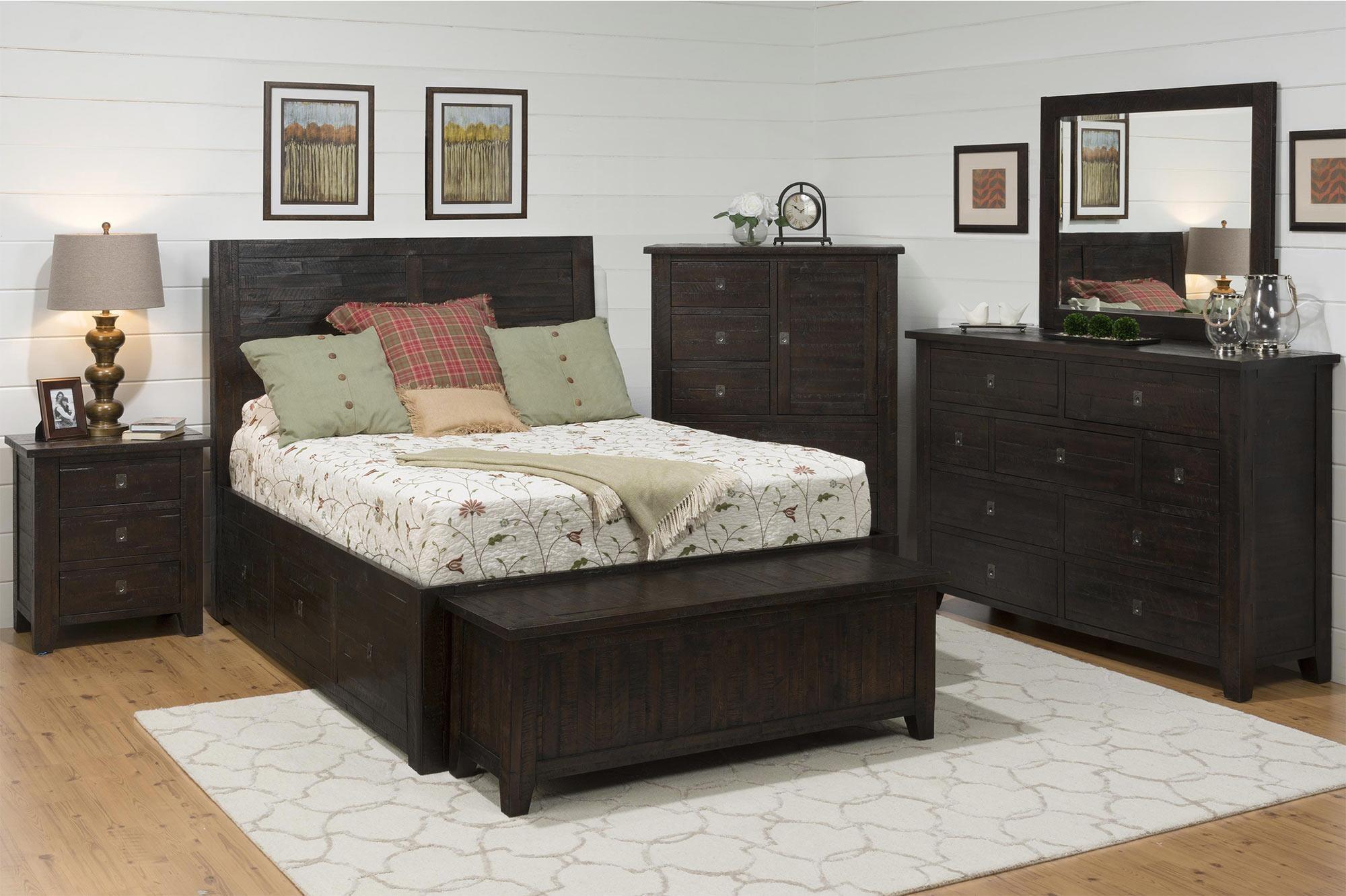 4-Piece King Storage Bedroom Set
