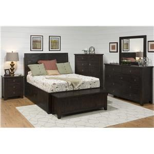 4-Piece King Storage Bedroom Set
