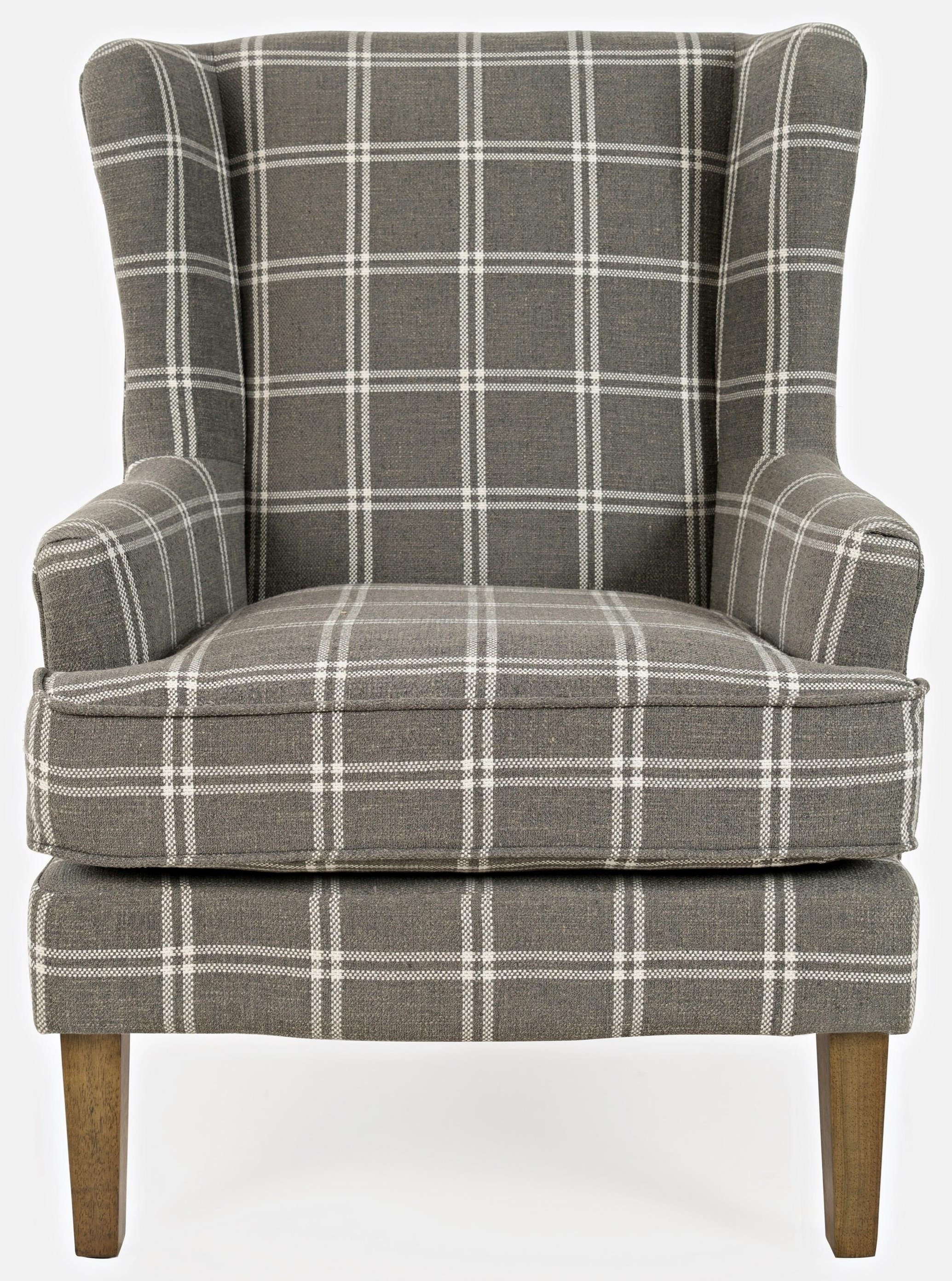 Lacroix Lacroix Grey Chair by Jofran at Stoney Creek Furniture