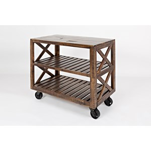 "Jofran Loftworks 36"" Trolley Cart"