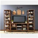Jofran Loftworks Solid Wood Entertainment Unit - Item Number: PKG1694ENT