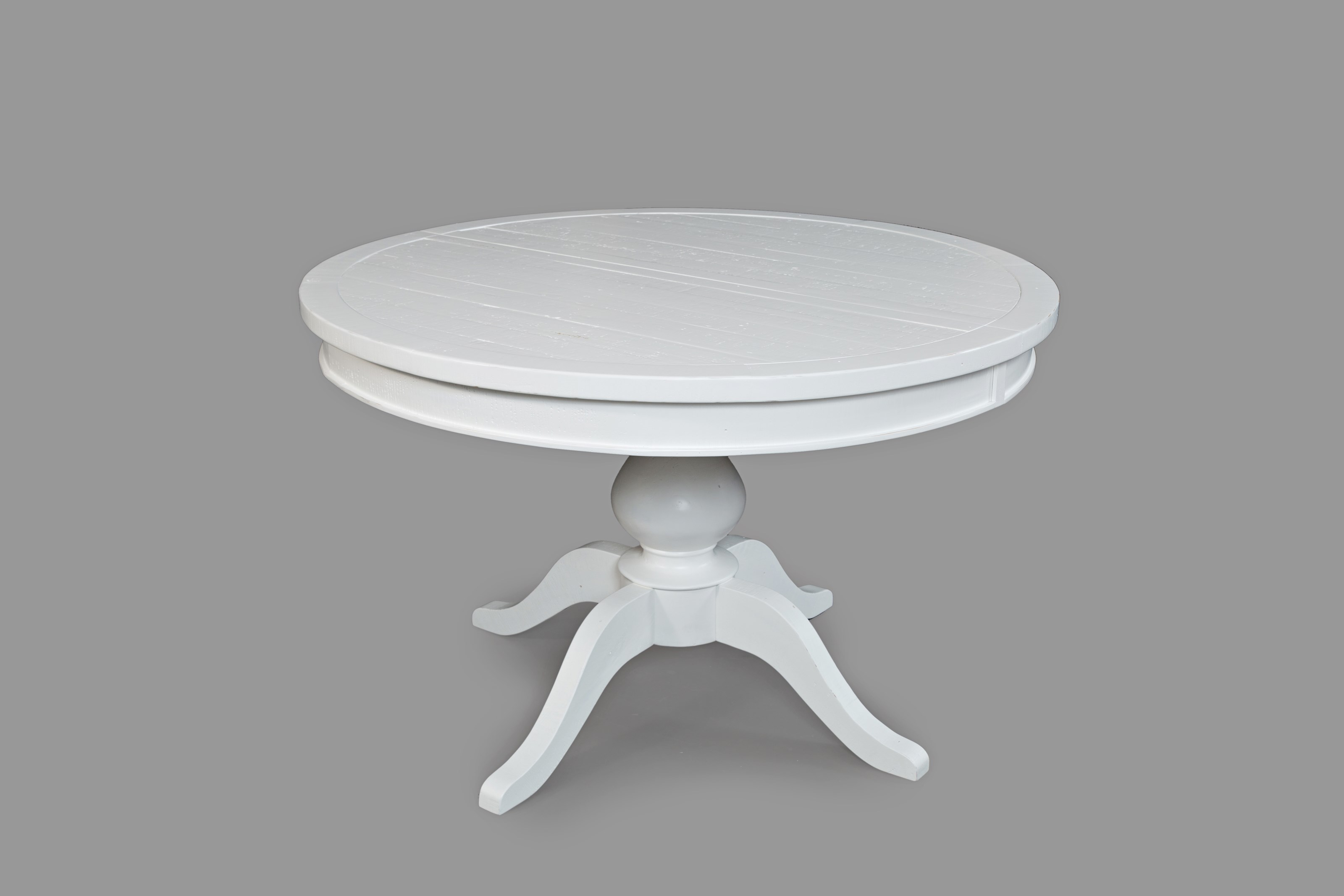 Round to Oval - Pedestal Dining Table