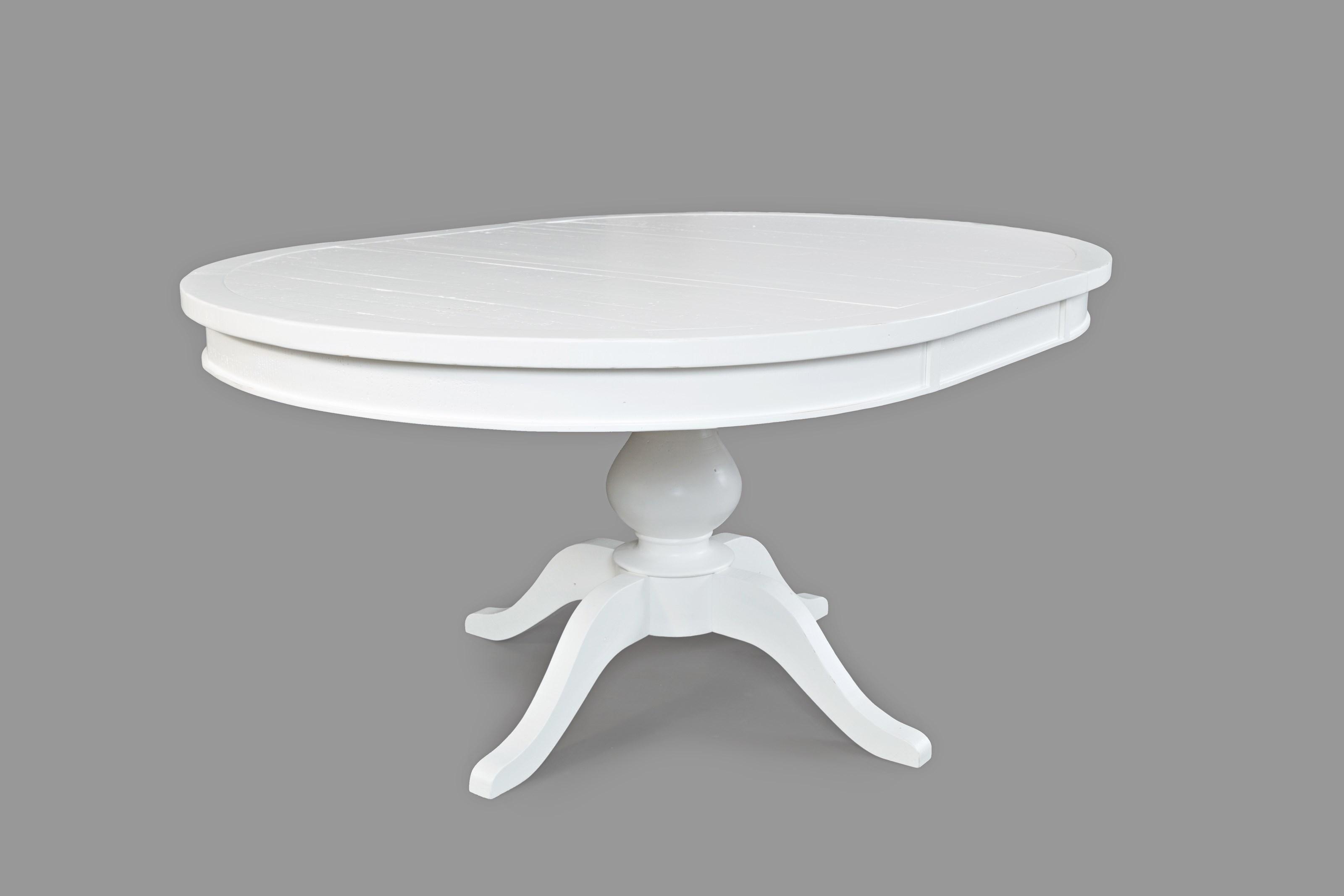 Jofran Madaket Round to Oval - Pedestal Dining Table   H.L ...