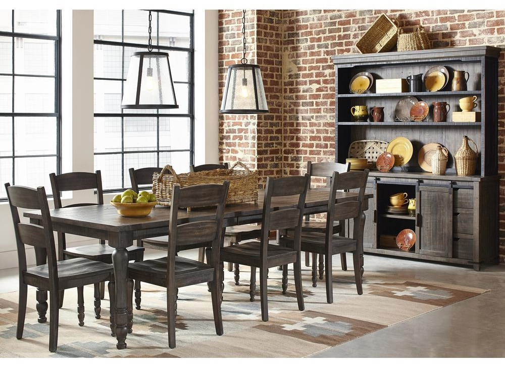 Madison County 7-Piece Dining Table and Chair Set by Jofran at Beck's Furniture