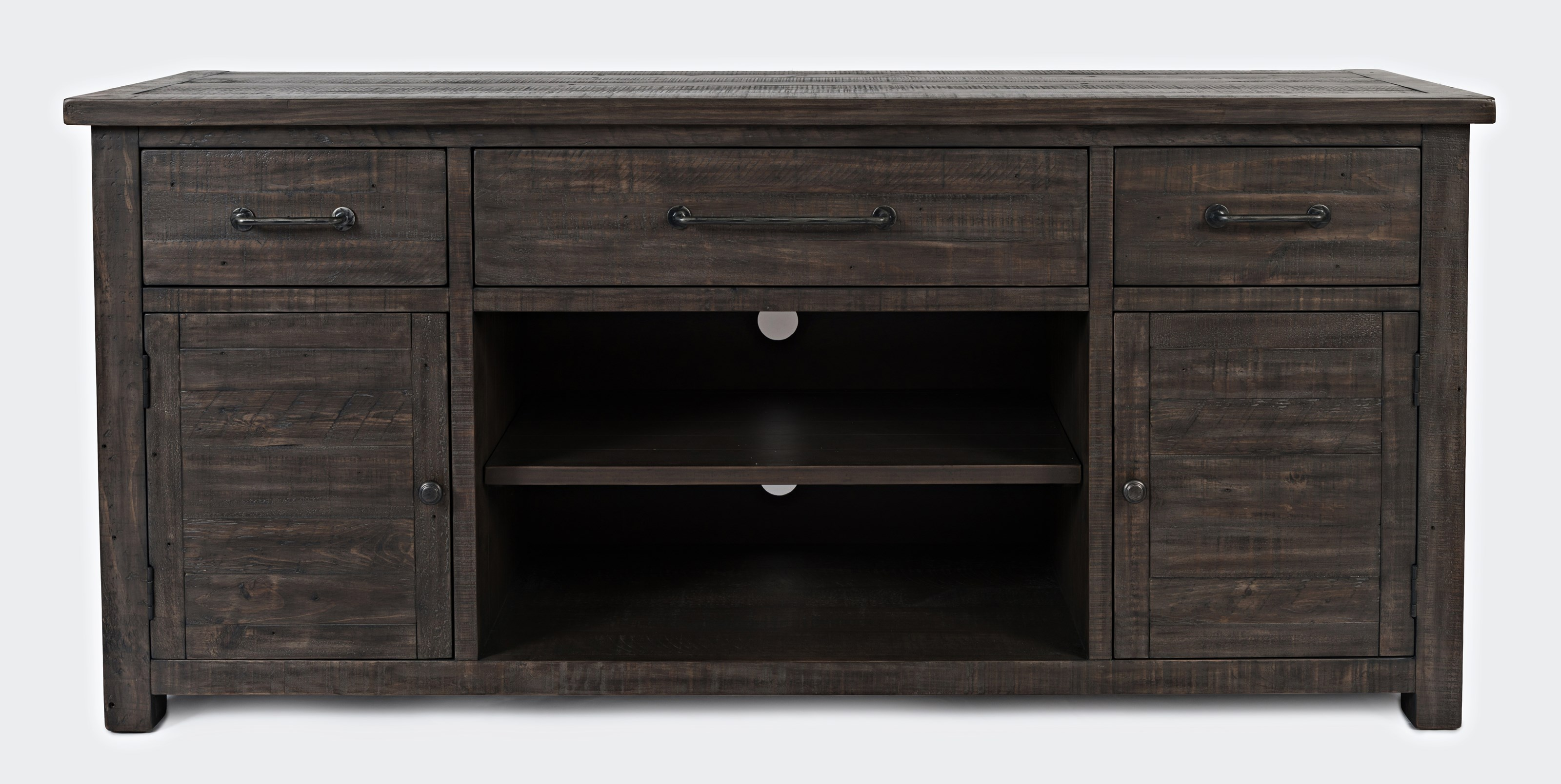 "Madison County 70"" Console by Jofran at Beck's Furniture"