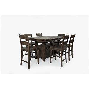 Pub Table & 6 Barstools