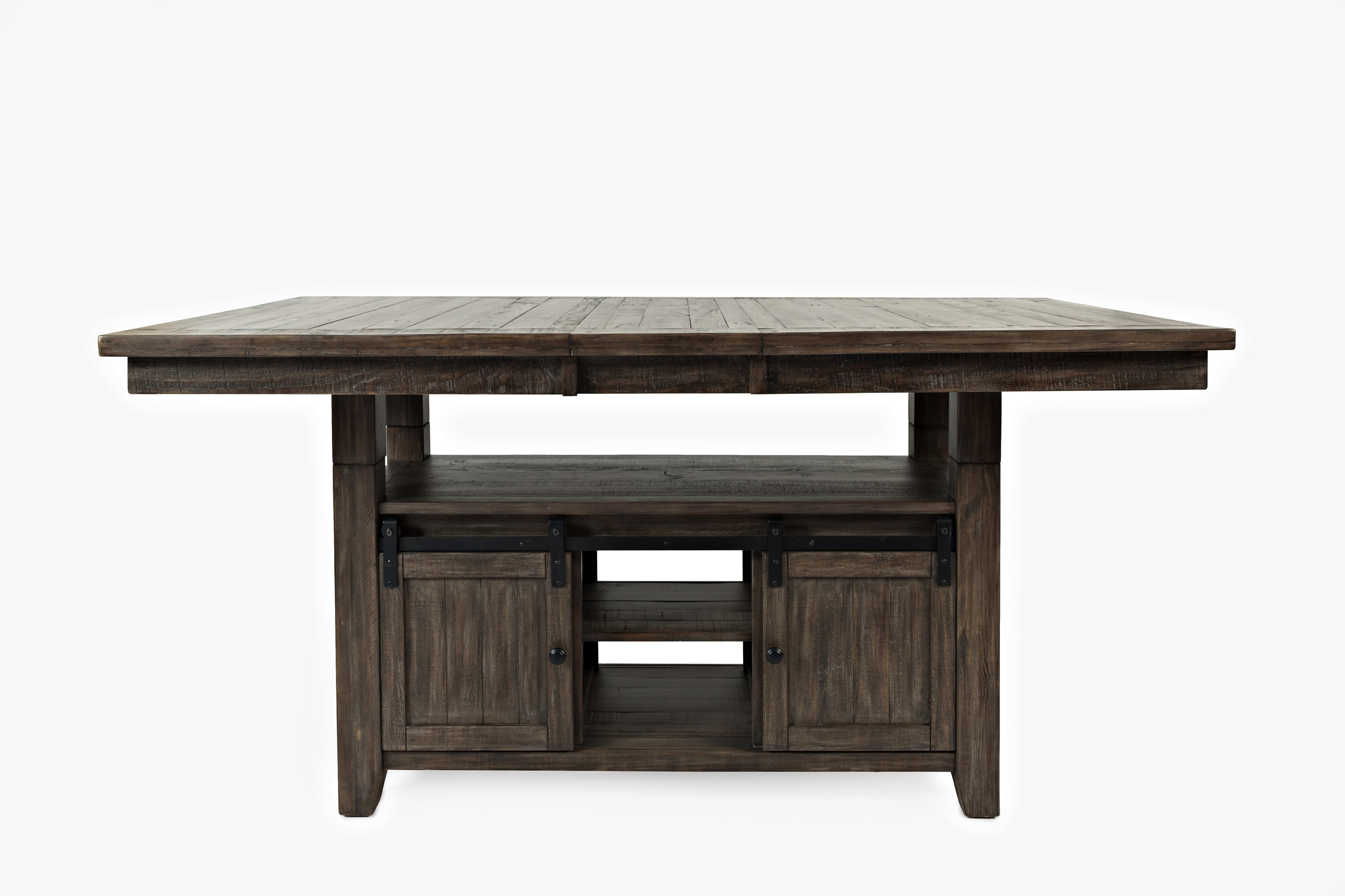 Adjustable height dining table
