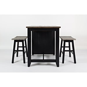 Jofran Madison County Counter Height Table Set