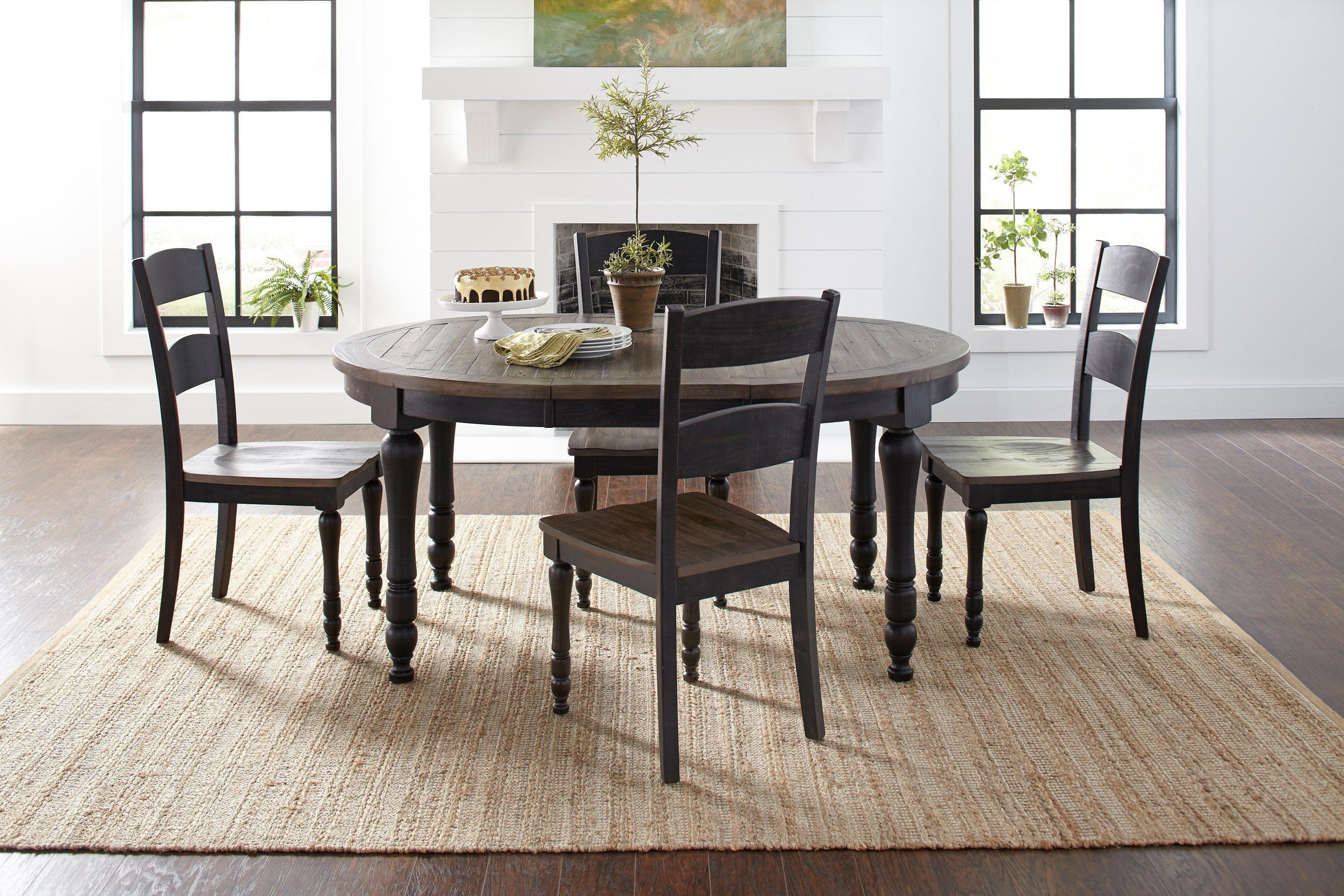 Madison County 5-Piece Dining and Chair Set by Jofran at Beck's Furniture