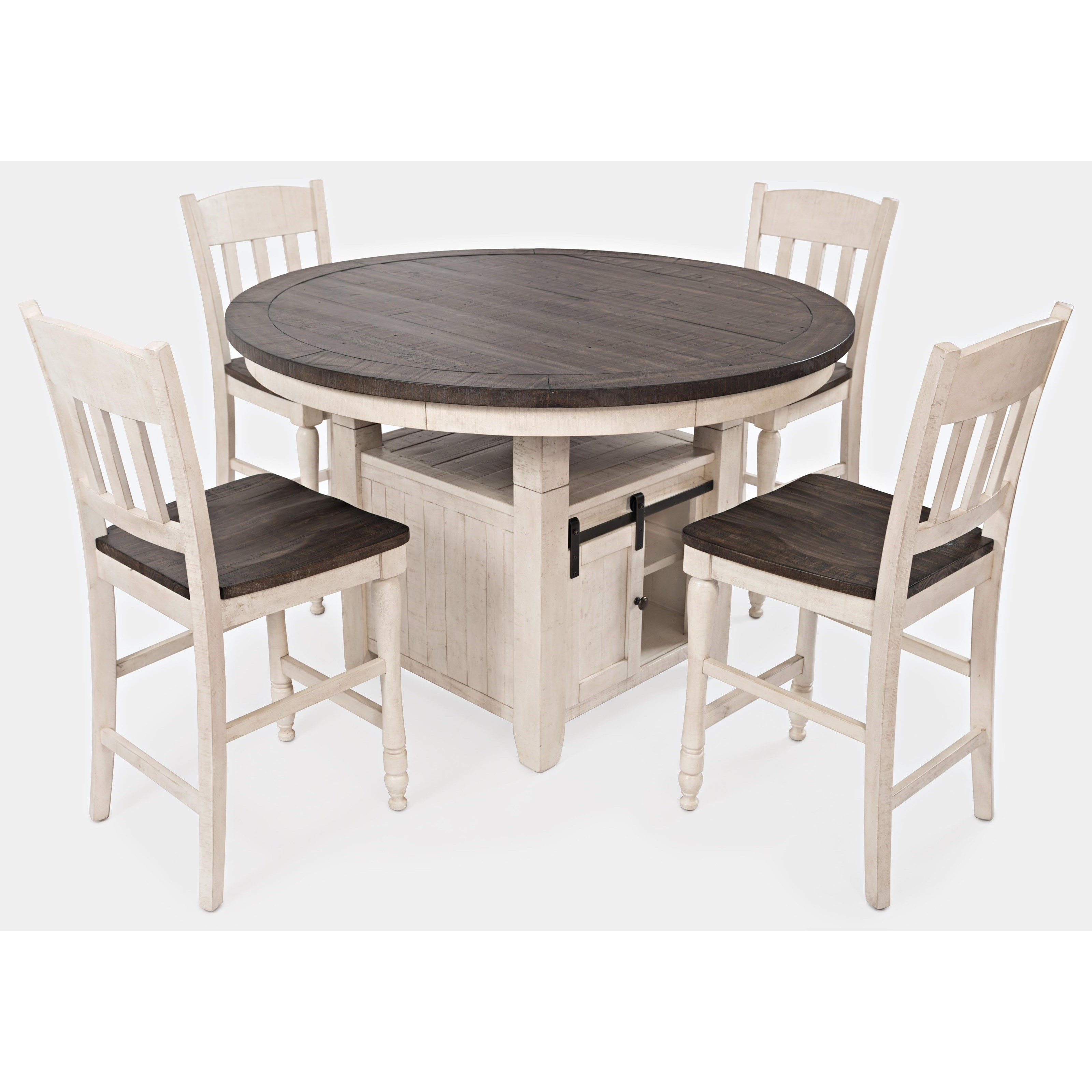 High Top Dining Room Table: VFM Signature Madison County High/Low Round Dining Table