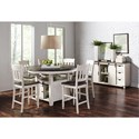 Jofran Madison County Round Dining Table