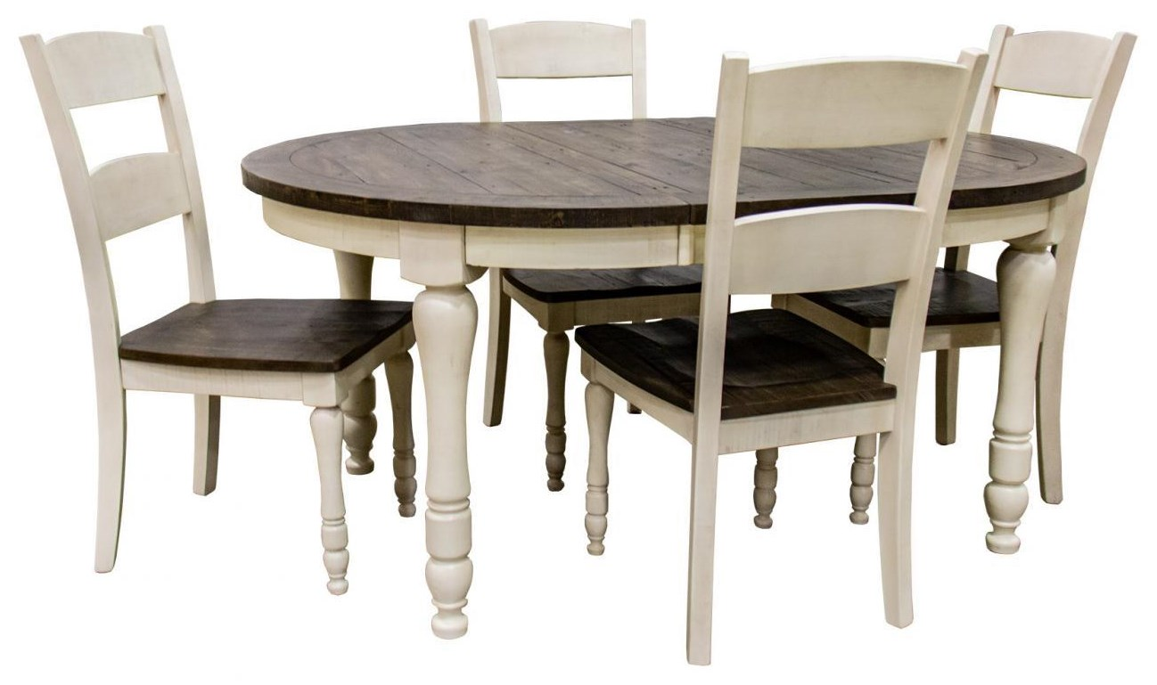 Madison County 5-Piece Dining Table and Chair Set by Jofran at Beck's Furniture