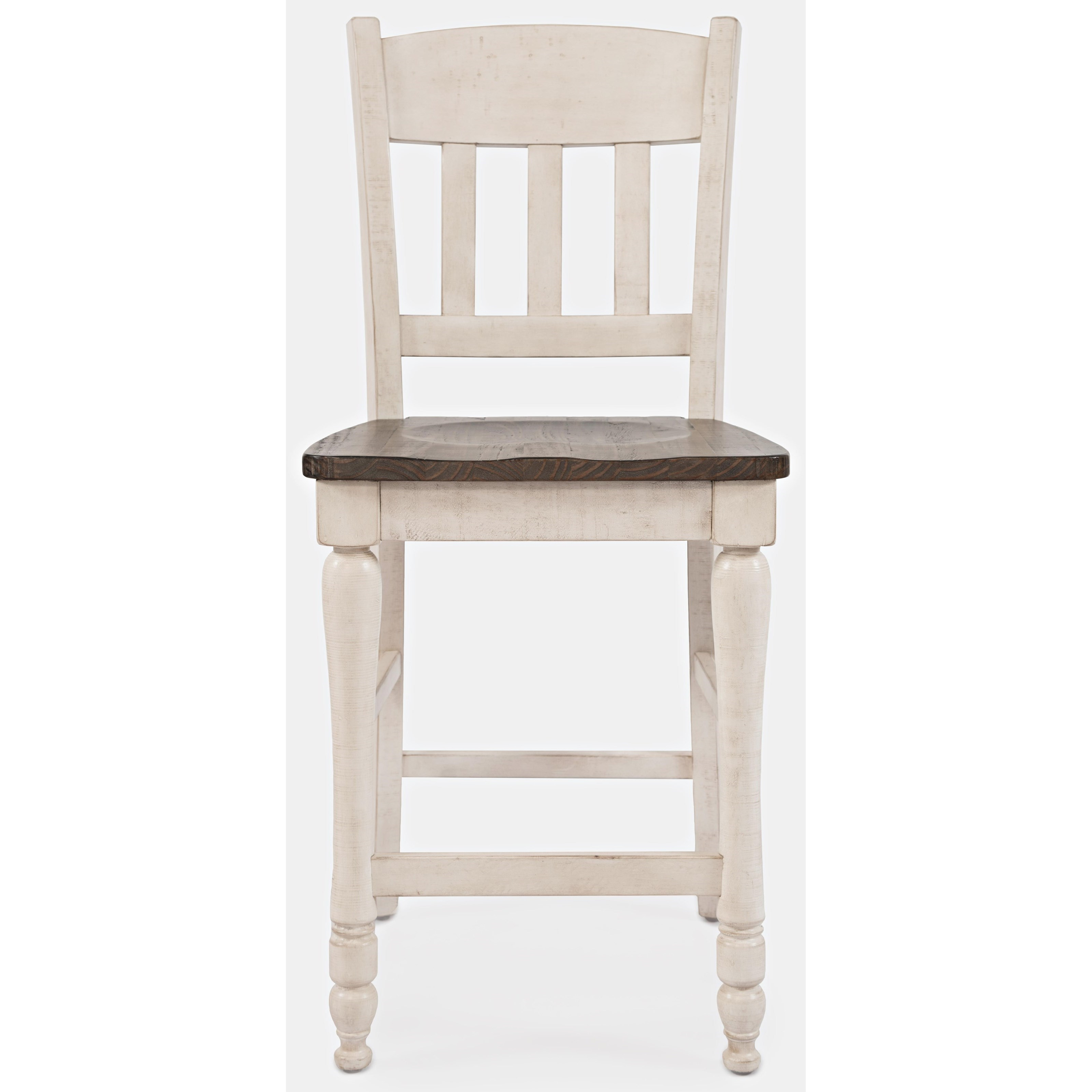 Madison County Slatback Counter Stool by Jofran at Stoney Creek Furniture