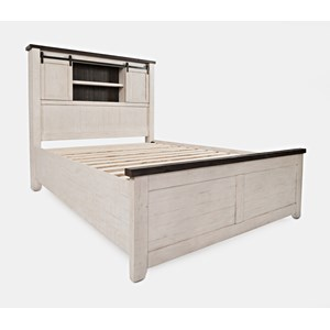Queen Barn Door Bed