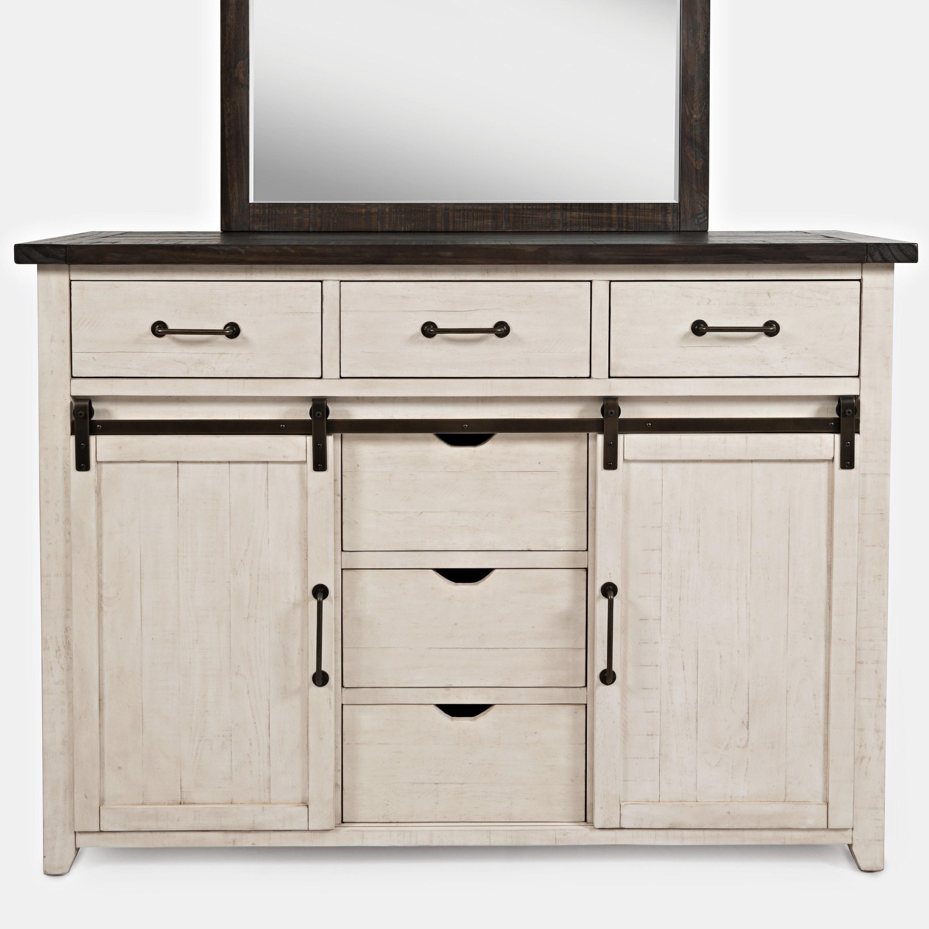 Madison County Door Dresser by Jofran at Stoney Creek Furniture