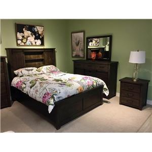 Solid Wood Queen Bedroom