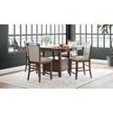 Jofran Manchester Counter Height Dining Set - Item Number: 1672-54TBKT+4xBS385KD