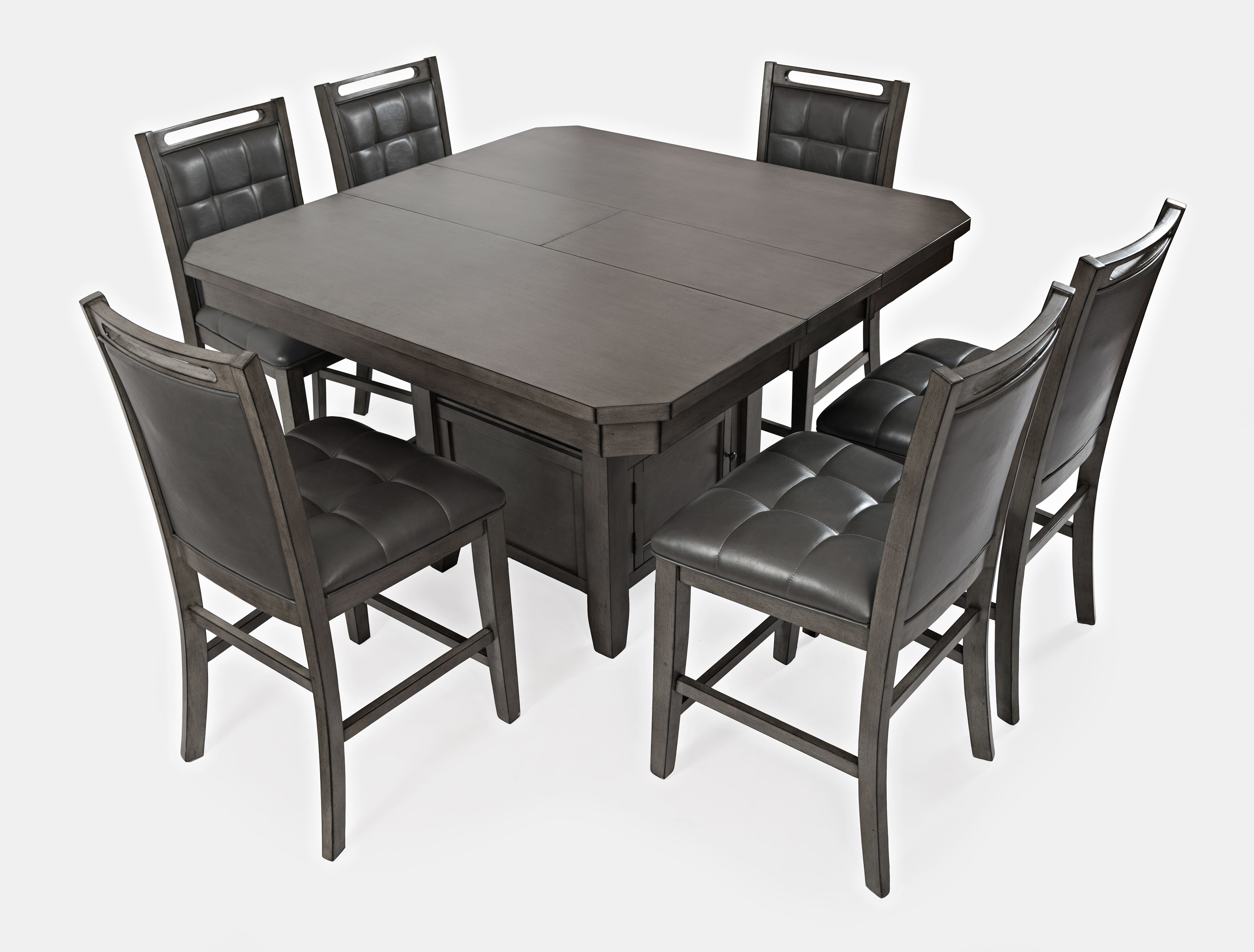 Jofran Manchester 7 Piece Counter Table And Chair Set