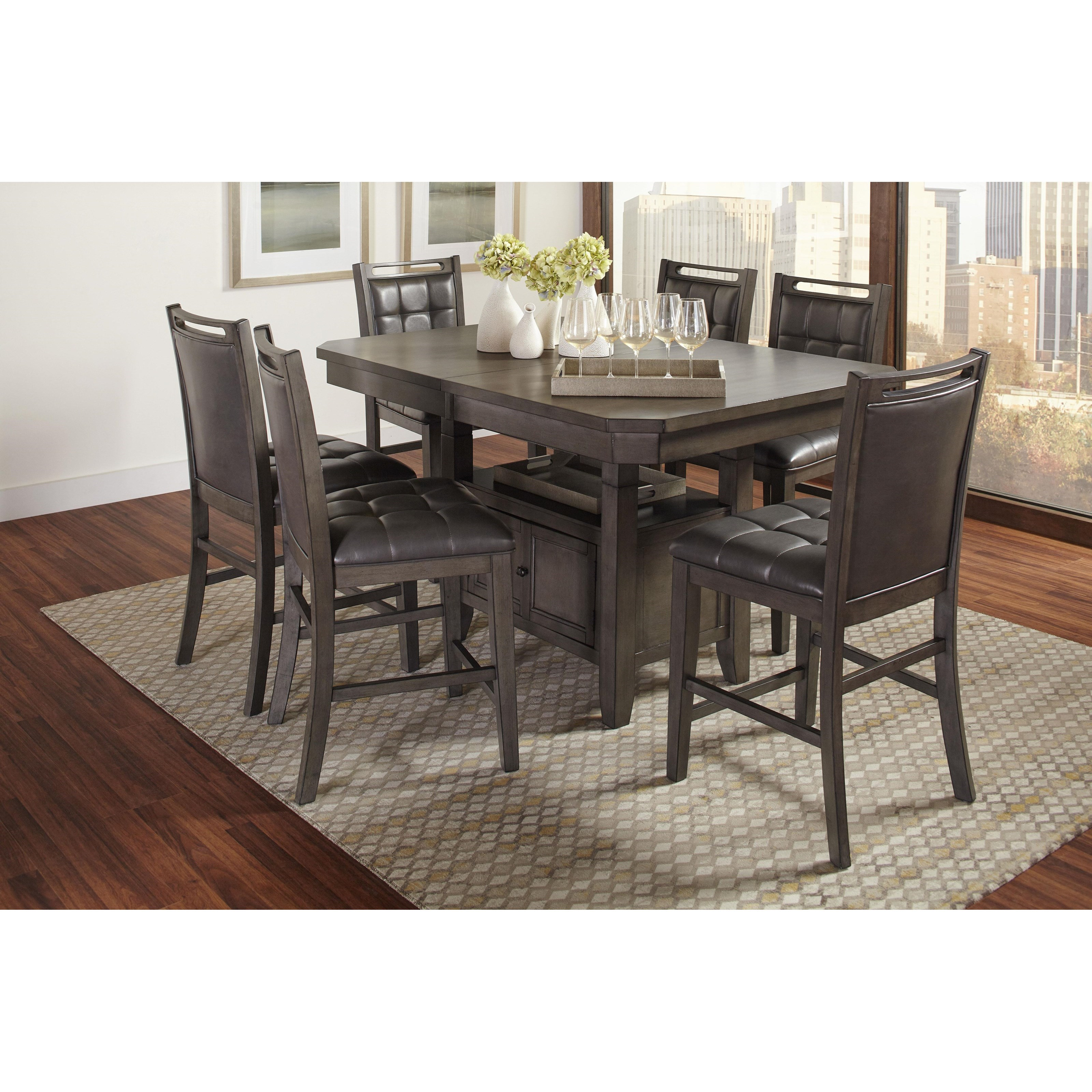 low dining room table | Jofran Manchester High/Low Rectangle Dining Table | Steger ...
