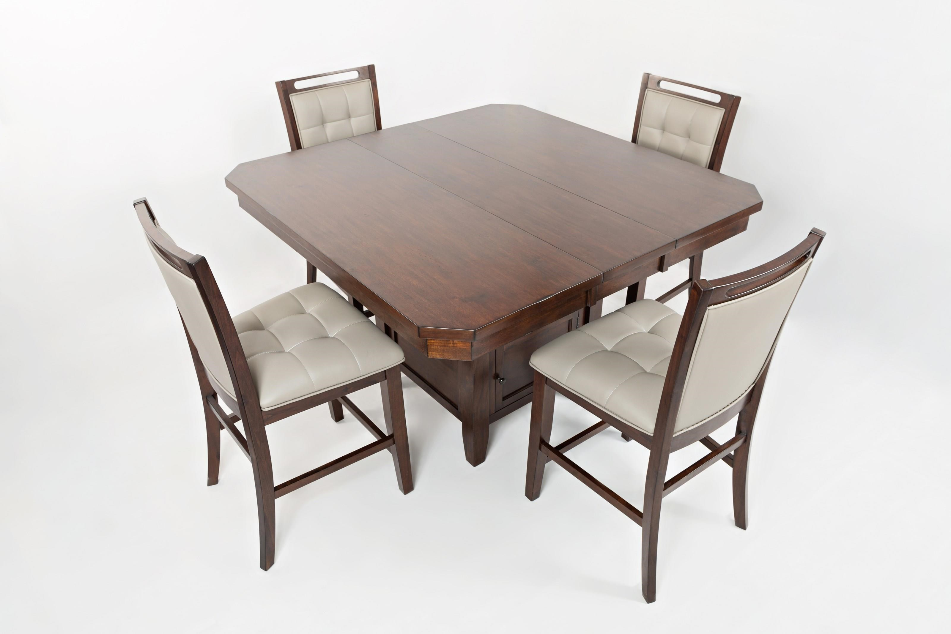 Jofran Manchester 5 Piece Table & Chair Set - Item Number: D16167-5PC
