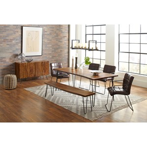 "79"" Dining Table and Chair Set"