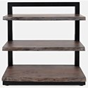 Jofran Nature's Edge 3 Shelf Bookcase - Item Number: 1982-32
