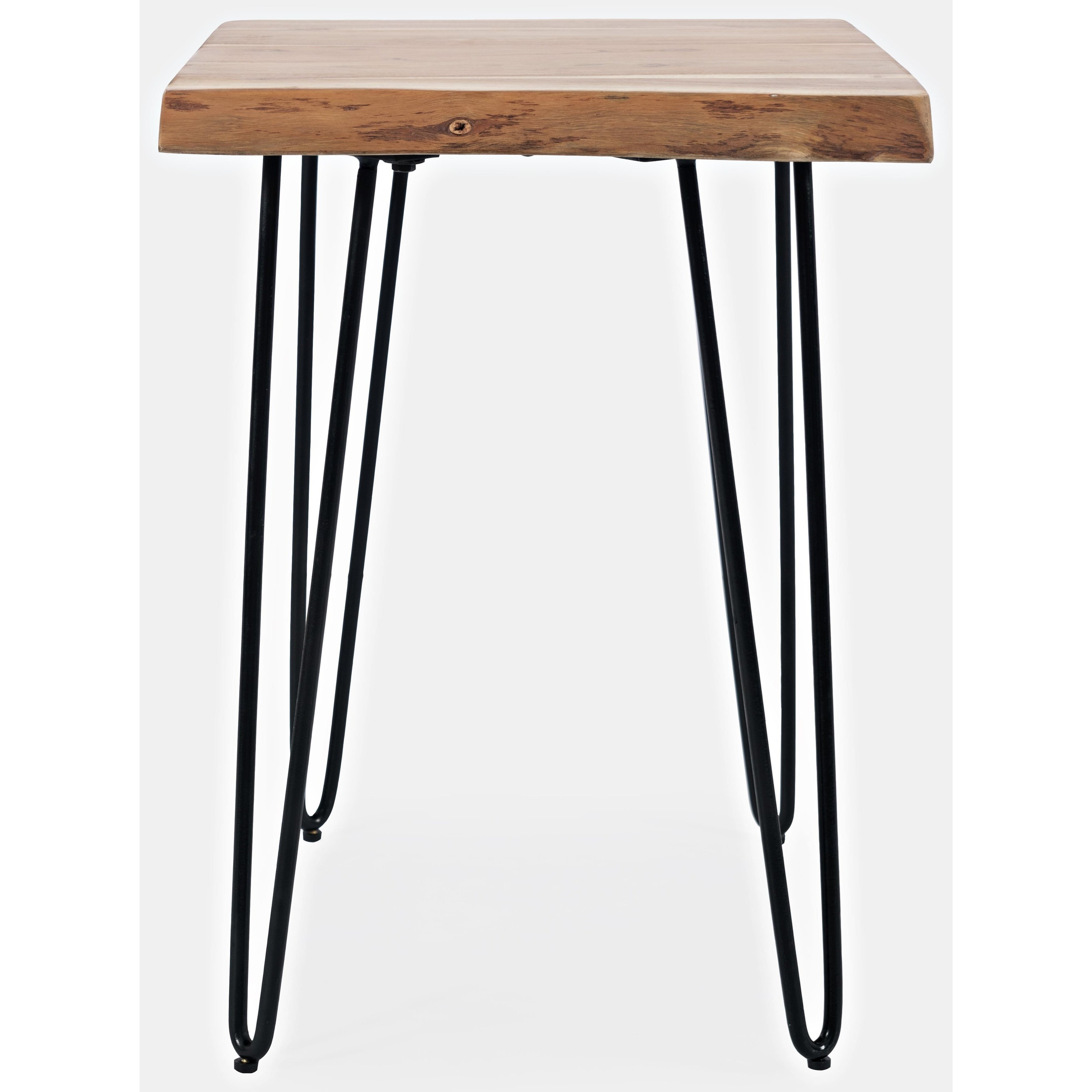 Nature's Edge Live Edge Chairside Table by Jofran at Jofran