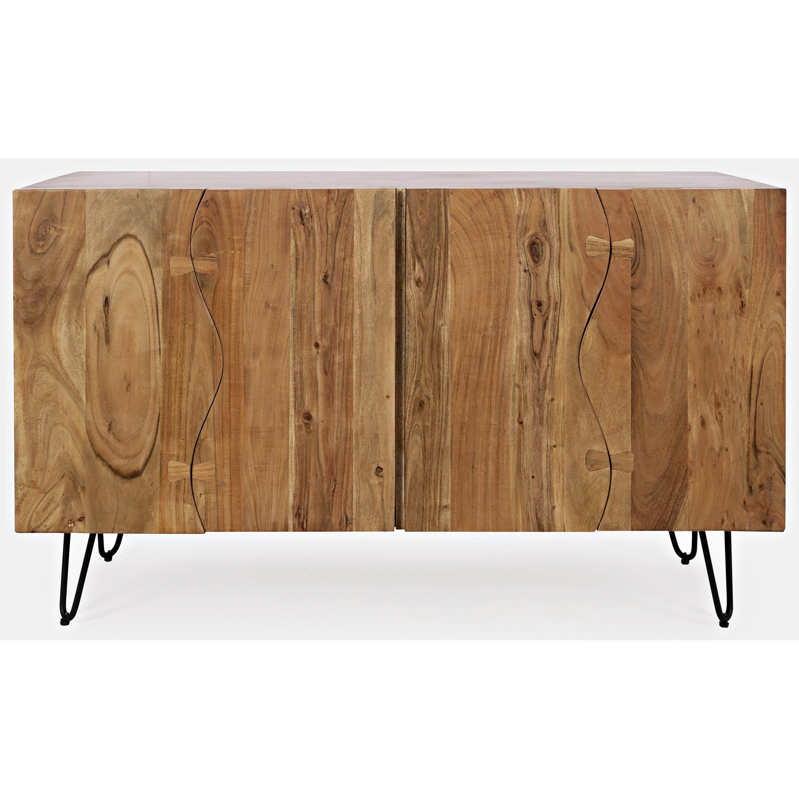 Nature's Edge Sideboard with 4 Live Edge Doors by Jofran at Stoney Creek Furniture