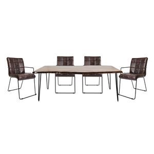 Jofran Natures Edge 5 Piece Dining Set