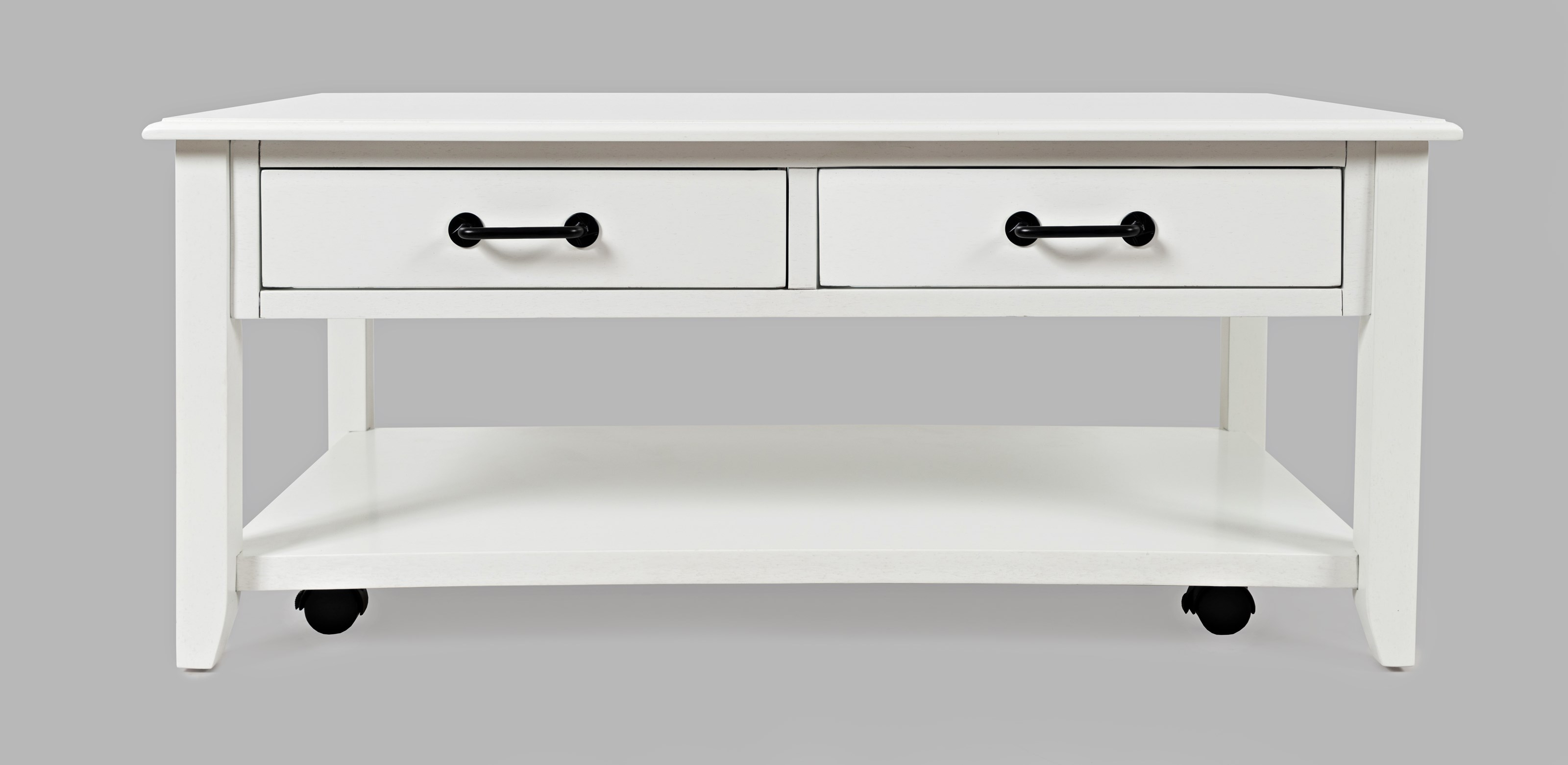 2 Drawer Castered Coffee Table