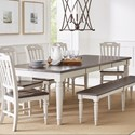 Jofran Orchard Park Rectangular Extension Table - Item Number: 1771-96