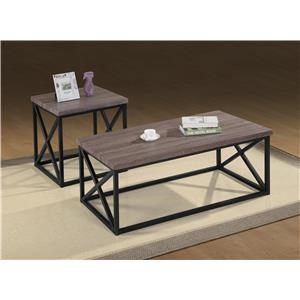Morris Home Furnishings Oreon Trail Oreon Trail 3-Pack Tables