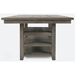 Hi/Low Square Storage Dining Table