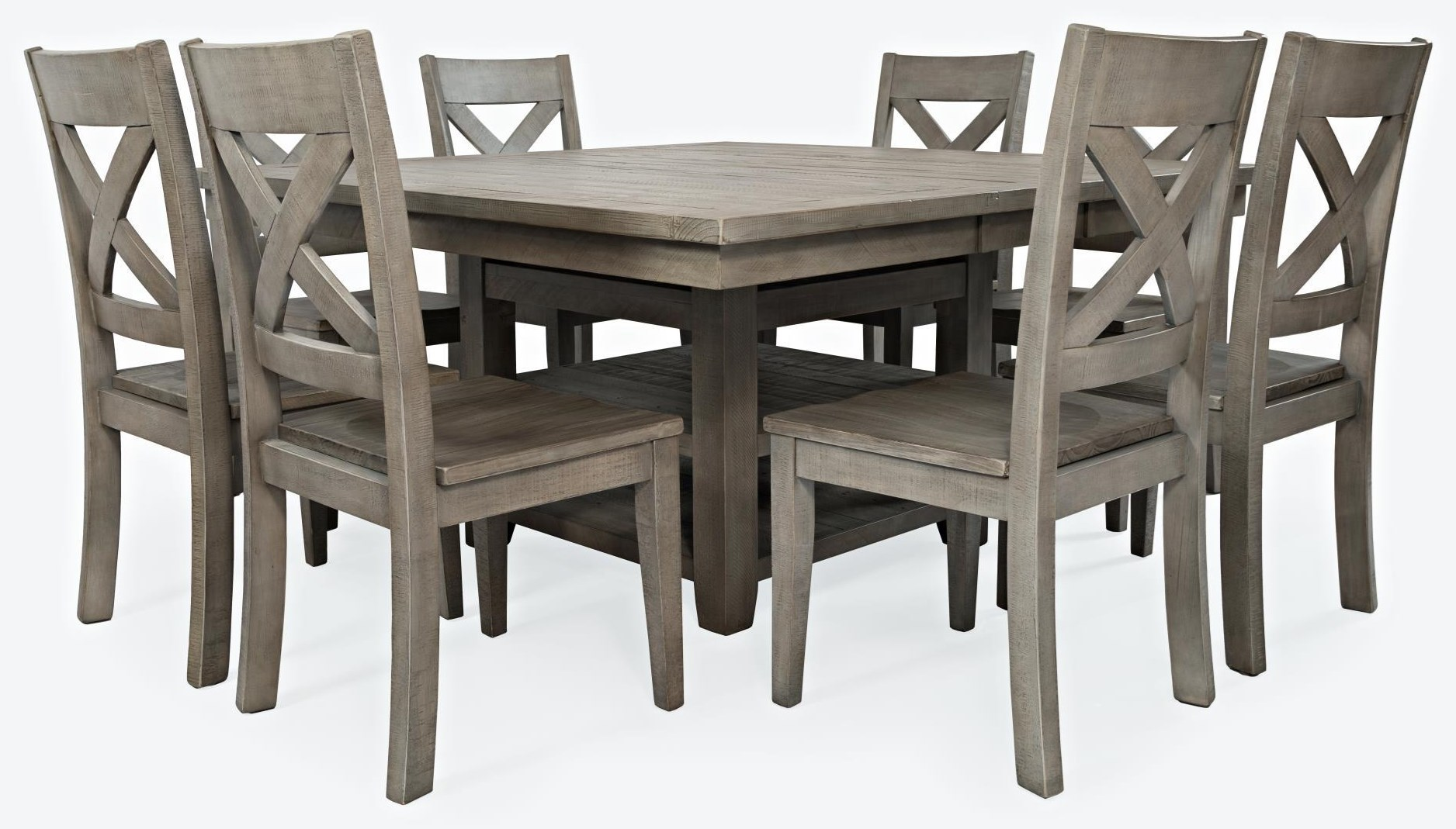 Hi/Low Storage Dining Table with 6 Stools