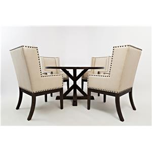 Jofran Pacific Heights Round Dining Table and Chair Set