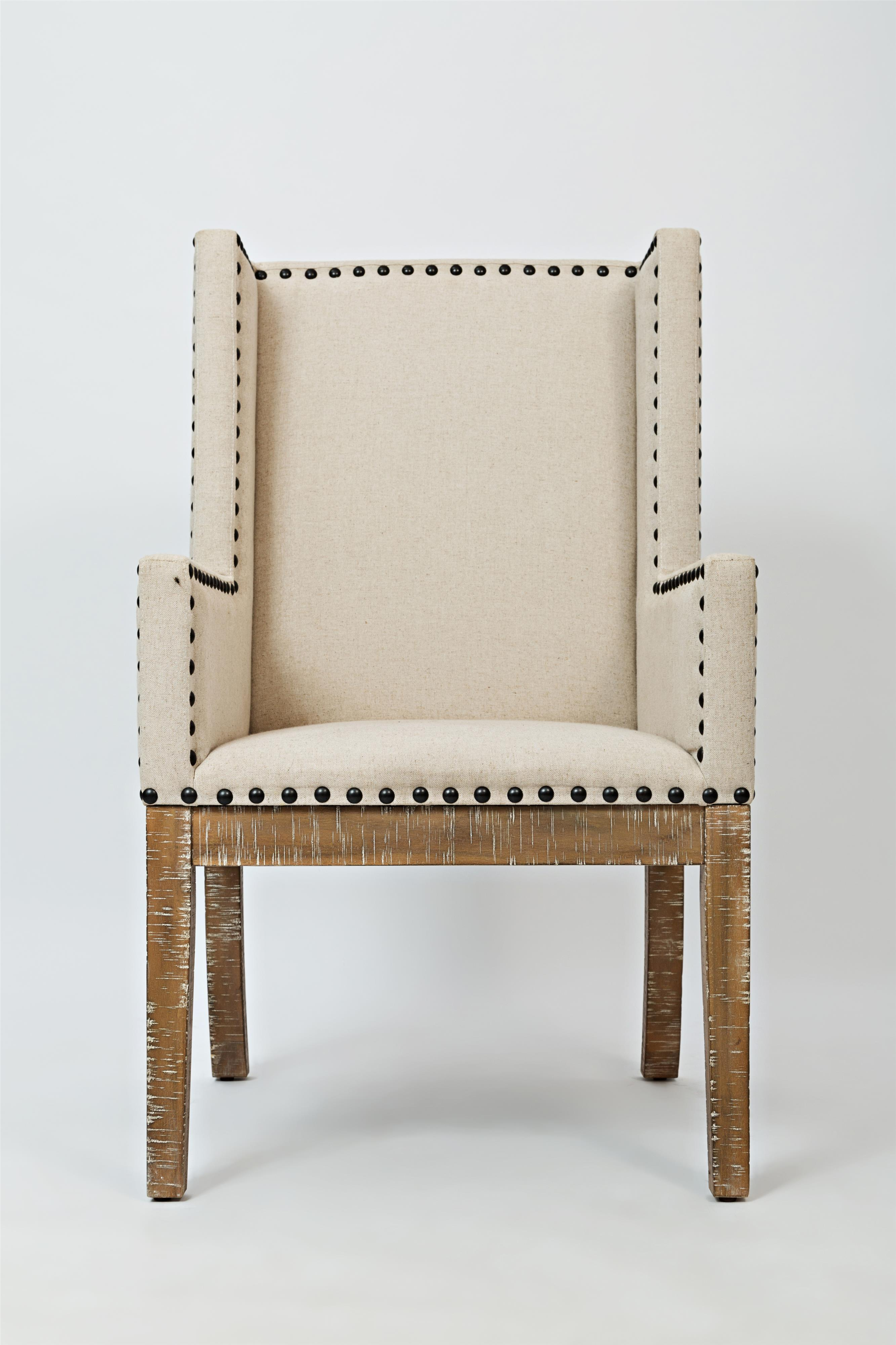 Morris Home Furnishings Pacific Heights Outerbanks Upholstered Side Chair - Item Number: 1590-198KD
