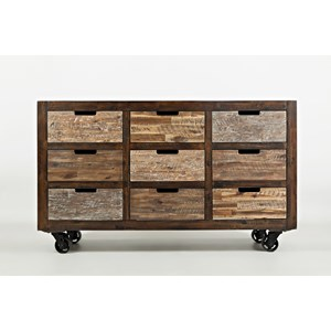 VFM Signature Painted Canyon Accent Chest