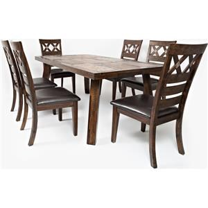 Jofran Tuscarora  Table with Four Chairs