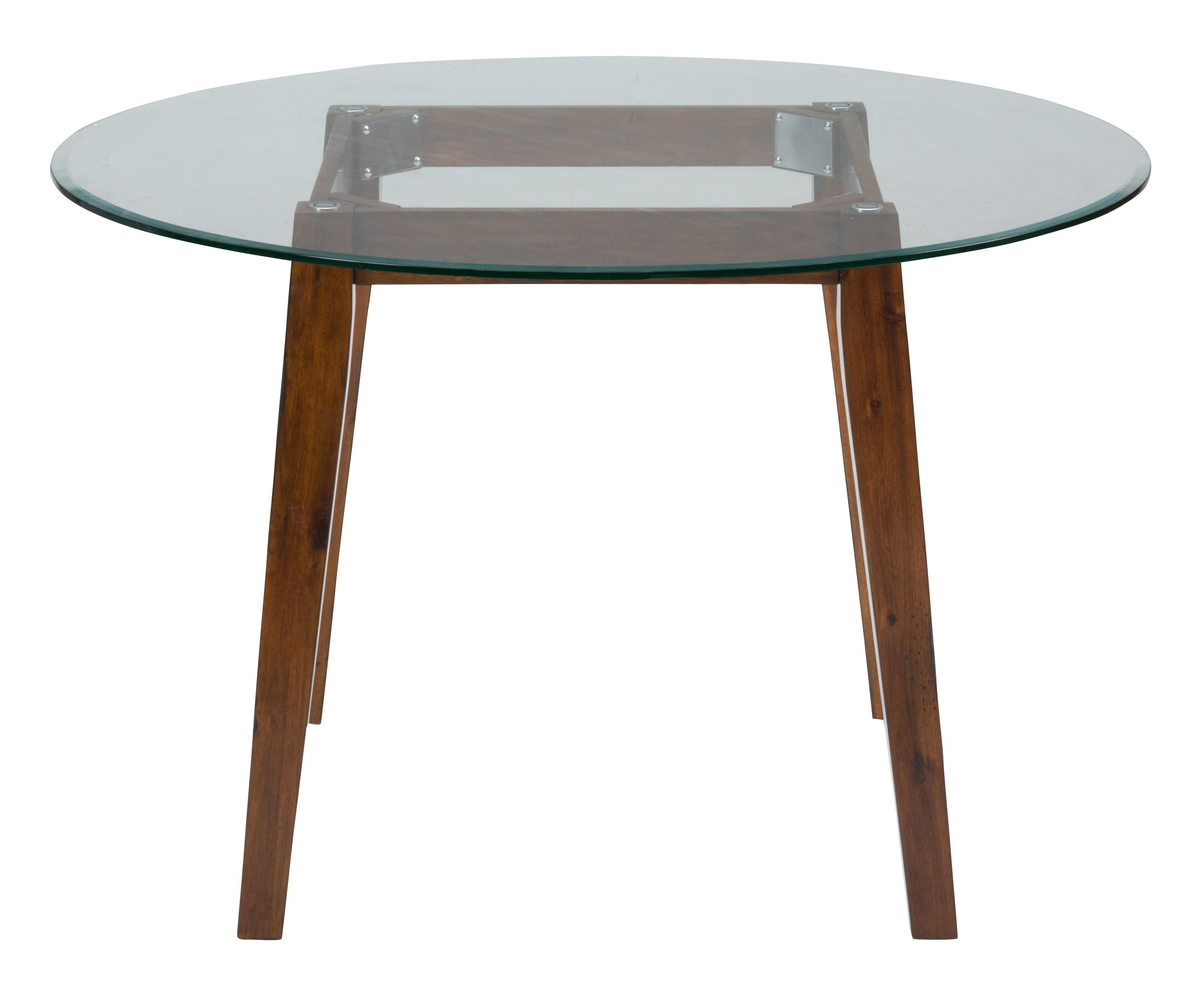 "Jofran Plantation 48"" Round Dining Height Table - Item Number: 505-48B+G-48RD"