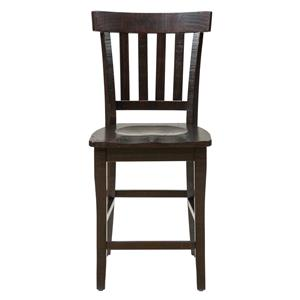 Jofran Prospect Creek Slat Back Stool