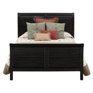 Jofran Prospect Creek King Sleigh Bed